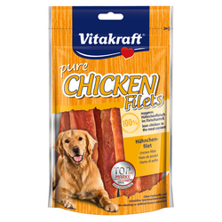 (2,49 EUR/100g) Vitakraft pure CHICKEN Filets - Hühnchenfilet 80 g