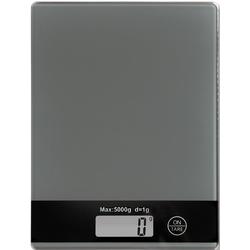 KESPER for kitchen & home Küchenwaage, mit LCD-Display, bis 5 kg grau
