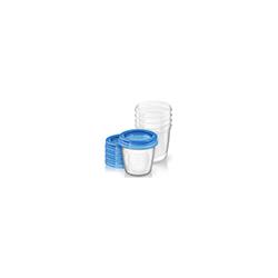 AVENT Aufbewahrungssystem für Muttermilch 5X180 ml