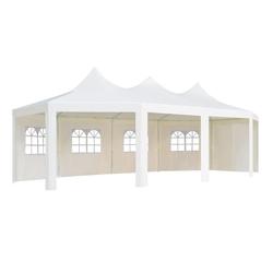 vidaXL Pavillon vidaXL Pavillon 834 x 448 x 320 cm Weiß