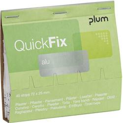 PLUM QUICKFIX® ALU 5515Pflaster-Nachfüllset
