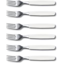 Victorinox Tafelgabel Victorinox Tafelgabel 6er Pack (6 Stück) weiß