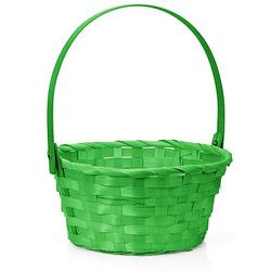 Osterkörbchen mit Henkel, grün