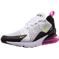 Nike Men's Air Max 270 white-black/ white-pink, 45