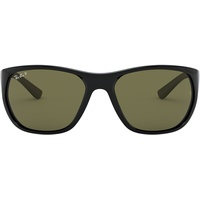 Ray Ban RB4307 601/9A 61-18 black/polarized green classic