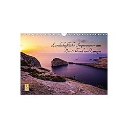 Landschaftliche Impressionen aus Deutschland und Europa (Wandkalender 2021 DIN A4 quer)