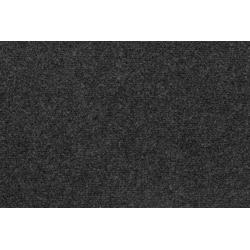 Nadelvliesteppich Milo, Andiamo, rechteckig, Höhe 3 mm, Festmaß 200 x 400 cm, Kurzflor grau