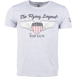 Top Gun Gamestop, T-Shirt - Grau - XXL