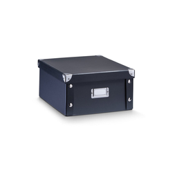 HTI-Living Aufbewahrungsbox Aufbewahrungsbox, Pappe Schwarz, Aufbewahrungsbox 31 cm x 14 cm