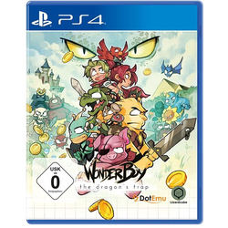 Wonder Boy 3 The Dragons Trap - PS4
