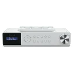 Grundig DKR 1000 BT DAB+ Unterbau-Küchenradio weiß Radio