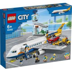 LEGO® Puzzle LEGO® City 60262 Passagierflugzeug, Puzzleteile