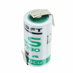 Saft Lithium LS17330 3,6 Volt 2,1 Ah mit Z-Lötfahne