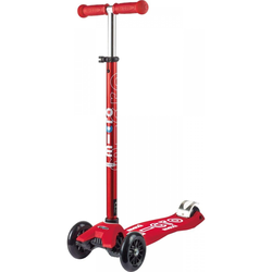 Micro Maxi Deluxe Scooter Rot