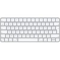 Apple Magic Tastatur USB + Bluetooth AZERTY Französisch Aluminium, Weiß