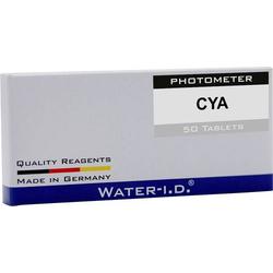 Water ID 50 Tabletten Cyanursäure für PoolLAB Tabletten