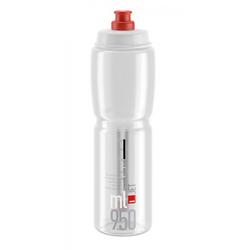 Elite Trinkflasche Trinkflasche Elite Jet 950ml, klar/rot