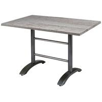 BEST Freizeitmöbel Maestro Klapptisch 120 x 80 x 73 cm anthrazit/montpellier klappbar