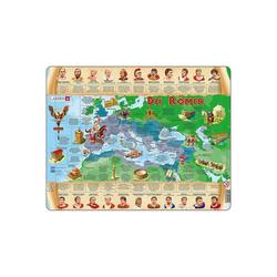 Larsen Puzzle Rahmen-Puzzle, 110 Teile, 36x28 cm, Die Römer, Puzzleteile