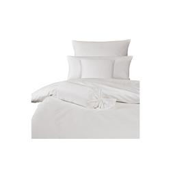 Bettwäsche Rubin in weiß, 155 x 220 cm