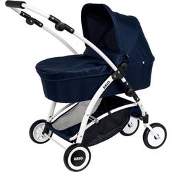 BRIO® Puppenwagen Spin, blau, mit Schwenkrädern