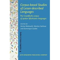 Corpus-based Studies of Lesser-described Languages: eBook von
