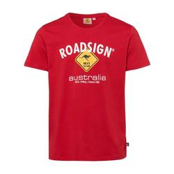 ROADSIGN australia T-Shirt Roadsigner mit Australien-Motiv rot M