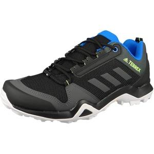 adidas Herren Terrex Ax3 Leichtathletik-Schuh, Kern Schwarz/DGH Fest Grau/Signal Grün, 42 EU