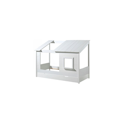 Vipack Hausbett Hbett Haven Vipack inkl. Dachüberbau + Bettschublade (2-tlg)