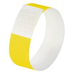 120 SIGEL Eintrittsbänder gelb