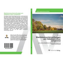 Wachstumsuntersuchungen am Feldahorn (Acer campestre) als Buch von Markus Els