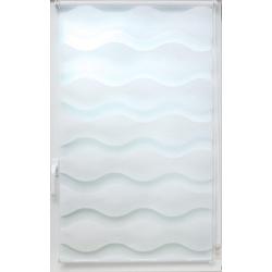 Doppelrollo Doppelrollo Welle, sunlines, Lichtschutz, ohne Bohren, freihängend, Effektiver Sichtschutz weiß 80 cm x 150 cm