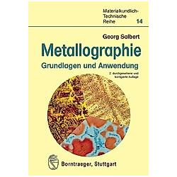 Metallographie. Georg Salbert  - Buch