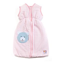 Heless Puppen Schlafsack Puppen-Schlafsack 50 cm, rosa, (1-tlg)