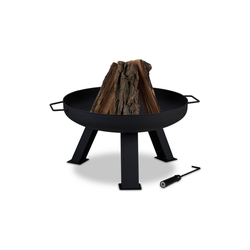 relaxdays Feuerschale Feuerschale 60 cm Durchmesser