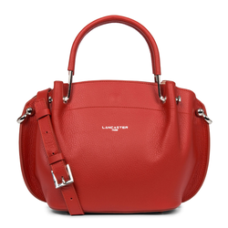 Foulonne Double Handtasche Louisa rouge pudre