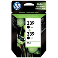 HP 339 schwarz 2er Pack (C9504EE)