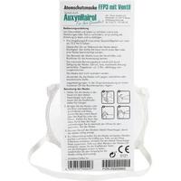 Auxynhairol-Vertrieb Mundschutz FFP 3 mit VENTIL