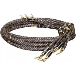 Dynavox Black-Line Lautsprecher Kabel 2x2m