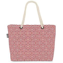 VOID Strandtasche (1-tlg), Orientalisches Muster Beach Bag Orient Urlaub Fliesen gemustert orientalisch