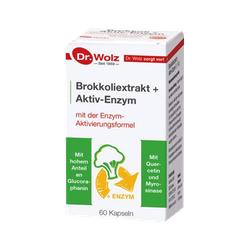 BROKKOLI EXTRAKT+Aktiv-Enzym Dr.Wolz msr.Kaps. 60 St