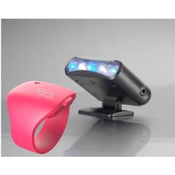 JOKA international Alarm-Armband Safe by GAIA pink und TV-Simulator im Set Alarmanlage (Sicherheit)