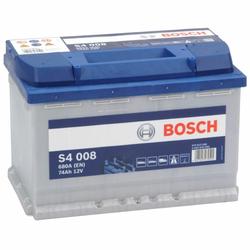 Bosch S4 008 Autobatterie 74Ah
