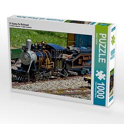 31 Santa Fe Railroad Lege-Größe 64 x 48 cm Foto-Puzzle Bild von Günther Geiger Puzzle