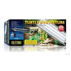 Exo Terra - Turtle Lampenhalter, inkl. UVB Lampe, 29,0 x 6,6 x 6,2 cm