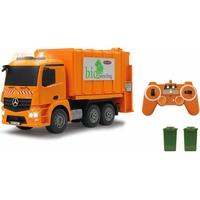 JAMARA RC LKW, Müllwagen Mercedes Antos, 1:20, 2,4 GHz orange
