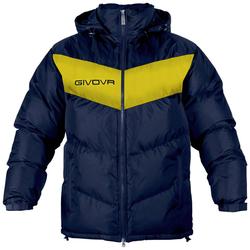 Givova Winterjacke Giubbotto Podio navy/gelb - XS
