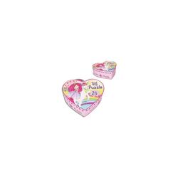 Depesche Puzzle Princess Mimi Puzzle in Herzschachtel, 25 Teile, Puzzleteile