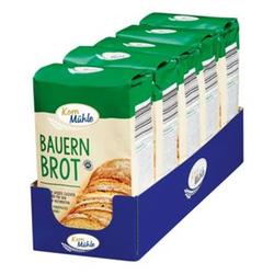 Kornmühle Backmischung Bauernbrot 1 kg, 5er Pack