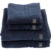 GANT Premium (4-tlg), hochwertiges Zero-Twist Garn blau